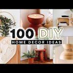 100 DIY HOME DECOR IDEAS + HACKS You Actually Want To Make! ✨ (Full Tutorials)