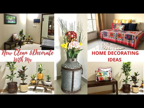 ✨NEW CLEAN & DECORATE WITH ME || HOME DECORATING IDEAS ||  HOME DECORATONS 2021 ||