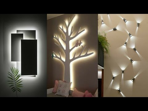 Modern 50 interior wall decorating ideas – Top wall lighting ideas 2021
