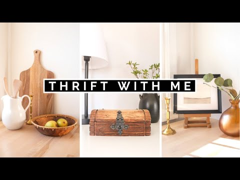 THRIFTING MY PINTEREST HOME DECOR | COME THRIFT WITH ME