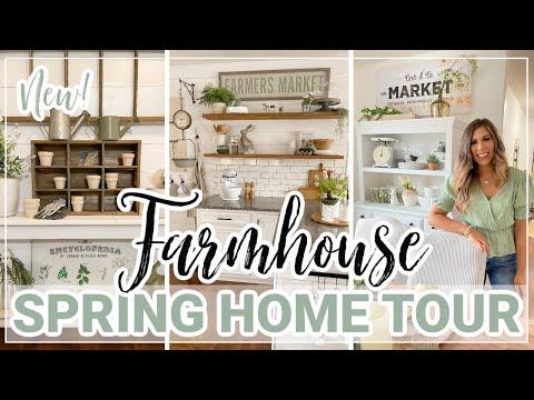 *NEW* SPRING HOME TOUR 2021 🏠 | FARMHOUSE SPRING DECORATING IDEAS | MODERN FARMHOUSE HOME DECOR