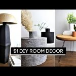 DIY Room Decor! $1 High-End Dollar Tree DIYs (EASY + AFFORDABLE)