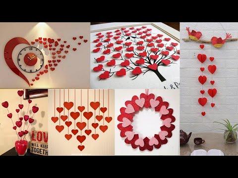 Home Decorating ideas handmade Heart Shape, Best decoration ideas !