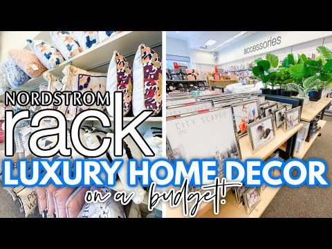 *NORDSTROM HOME DECOR* LUXURY decor on a BUDGET   Home + Office DECORATING IDEAS at Nordstrom Rack