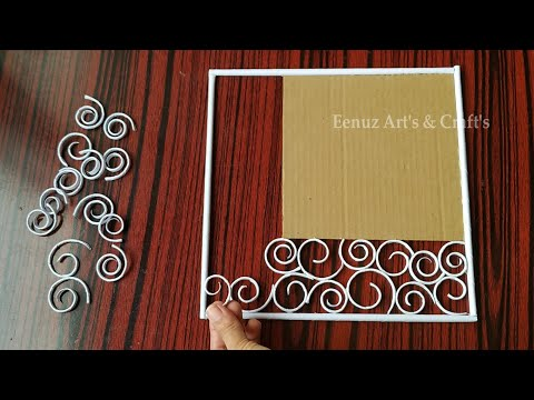 Photo frame Ideas-Paper Craft-Wall Decoration Ideas-DIY-Home Decorating idea#papercraft#photoframe#