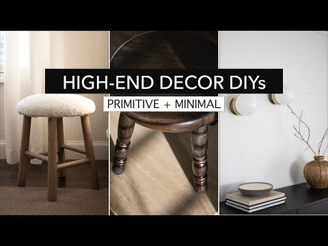 High End DIY Home Decor Ideas (affordable project tutorials)