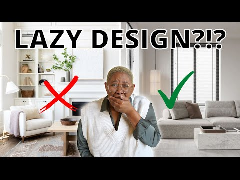 8 Interior Design Tips for Lazy People! | Easy, Low Maintenance Design Hacks for NORMAL People
