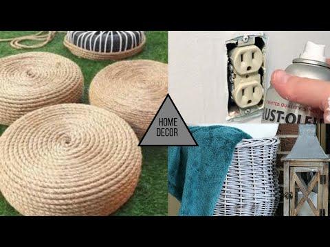 Creative Tik Tok DIY Home Decor Project Ideas