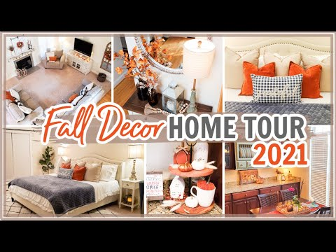 FALL HOME TOUR 2021   FALL DECORATING IDEAS   Cook Clean And Repeat