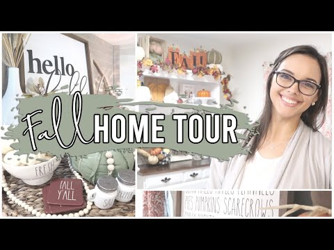 *NEW* FALL HOME TOUR 2021   FALL DECORATING IDEAS + INSPIRATION   SMALL HOME EDITION