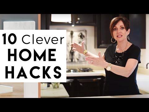 INTERIOR DESIGN | 10 Clever Home HACKS (Part One)