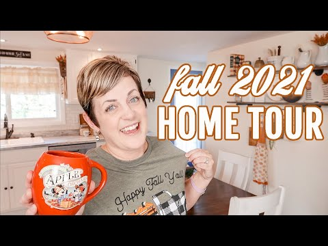 COZY FALL HOME TOUR 2021 🍂 *VINTAGE FALL DECORATING IDEAS!*    COUNTRY COTTAGE ANTIQUE FARMHOUSE