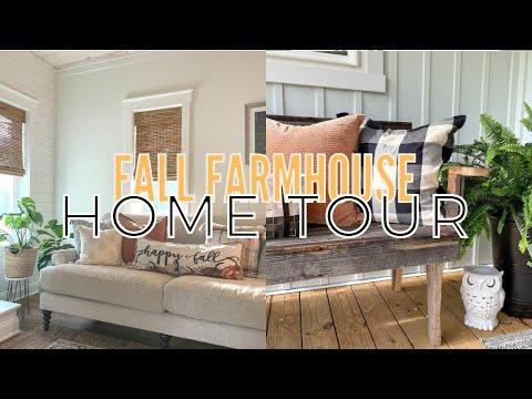 Small Cottage Home Tour | Fall Farmhouse Home Tour | Fall Decorating Ideas 2021
