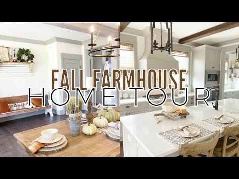 Farmhouse Cottage Fall Home Tour | Fall Decorating Ideas | Fall Decor Stylings 2021