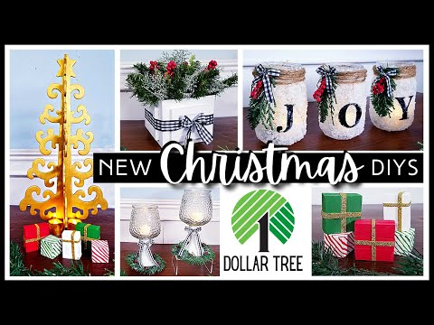 *NEW* DOLLAR TREE DIY | Easy CHRISTMAS & Holiday Home Decor DIYs To Try in 2021 | Ideas & Gifts!