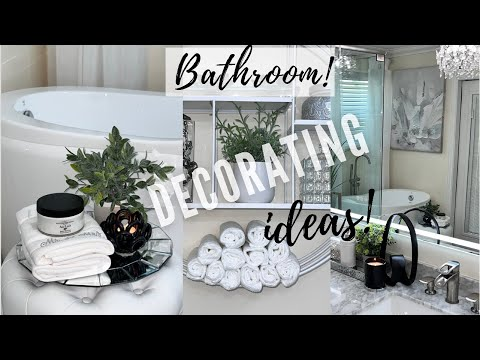 TRENDY BATHROOM DECORATING IDEAS | HOME DECORATING IDEAS