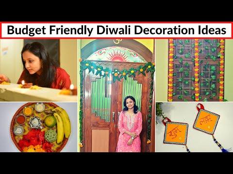 Budget Friendly Diwali Decoration Hacks / Ideas | Last Minute Diwali Decoration Ideas | Urban Rasoi